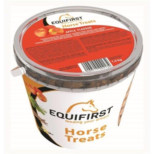 Duo Protection Equifirst  Pferd treats Apfel 1,5 Kilo