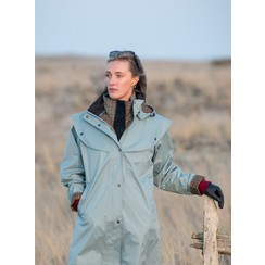 Jack Murphy rain coat lady sizes  Smoke Blue
