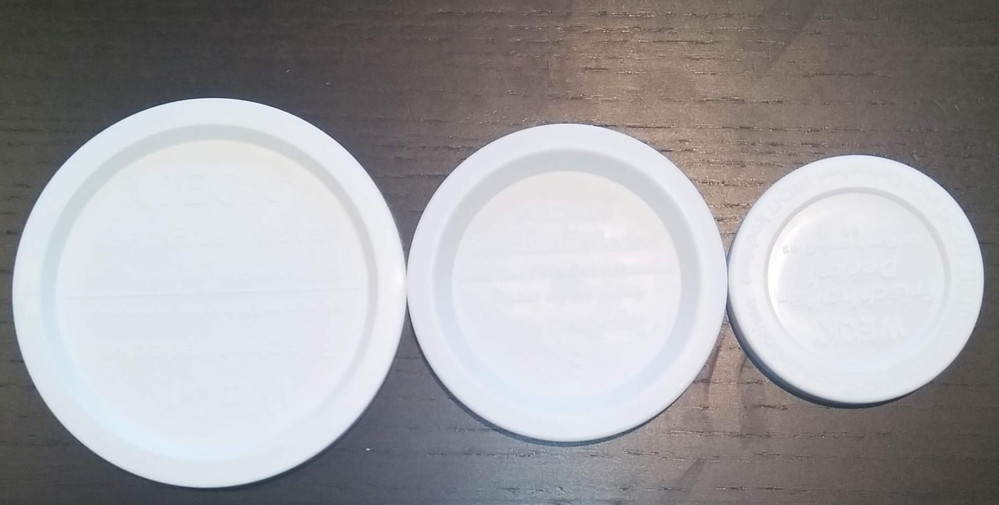 weck deksel plastic voor bodycrème