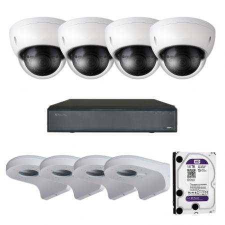 4 Camera's 5 MP kit X Security