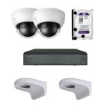 X-security 2 Camera's 5 MP kit X Security
