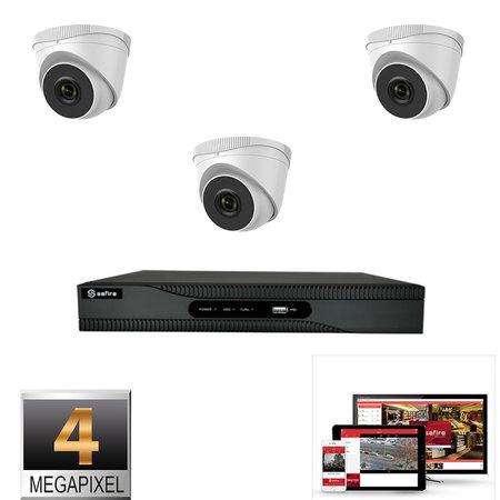 Safire / hikvision 3 Camera 4MP kit Safire