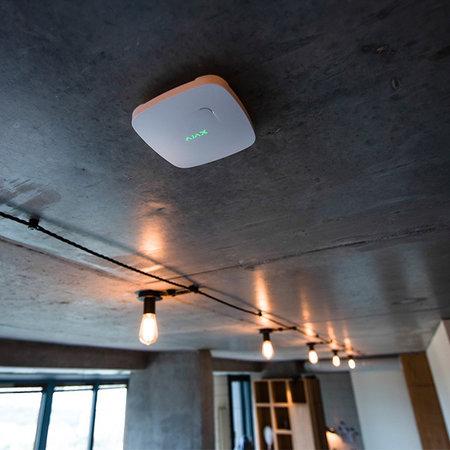Ajax security Ajax CO2 Slimme rook- en hittemelder wit