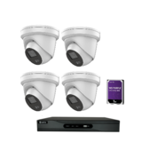 Safire / hikvision 4 Camera 4MP Night color set