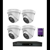 Safire / hikvision 4 Camera 4MP Night color set