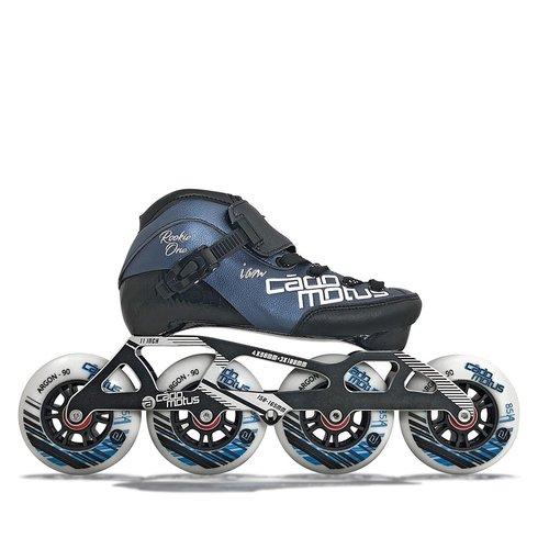 Cádomotus Rookie One Kids Inline Skate 4x90 | 3x100 race setup