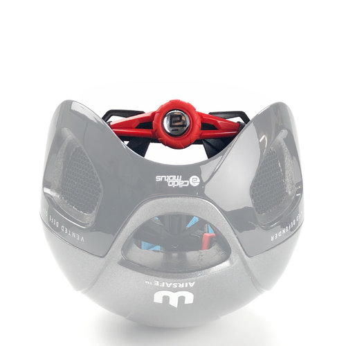 Cádomotus Helmet closure system