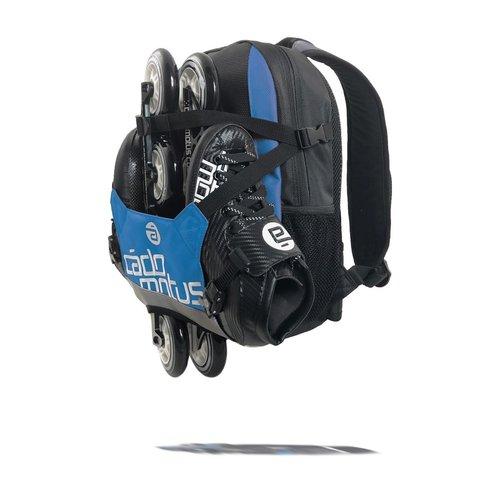 Cádomotus Urban Flow ice and inline skate gear bag for kids | Blue