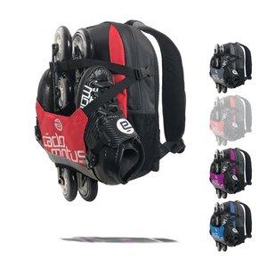 Cádomotus Urban Flow ice and inline skate gear bag for kids | Red