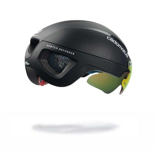 Cádomotus Omega Aero helmet for speedskating and cycling - Black - Matt