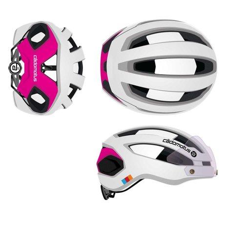 Cádomotus Sigma-II Aerodynamic Cycling helmet with good ventilation and integrated visor | custom