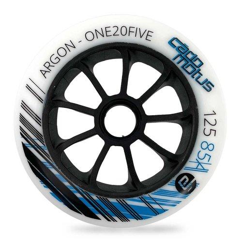Cádomotus Argon inline wheel for kids and cadets