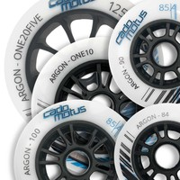 Argon inline wheel for kids and cadets