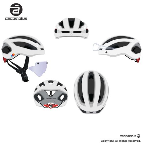 Cádomotus Sigma-II Aerodynamic Cycling helmet with extreme ventilation | custom