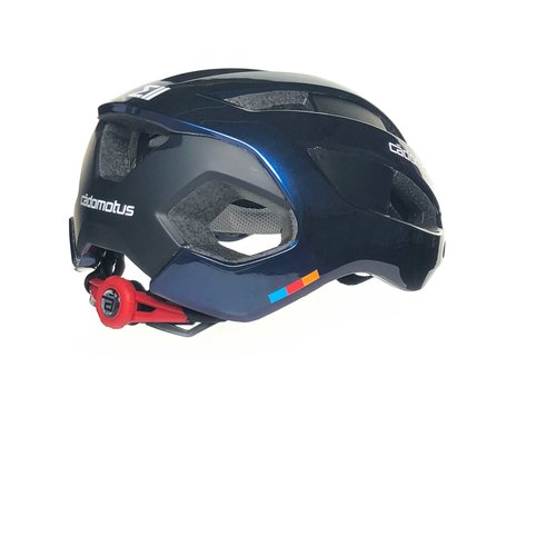 Cádomotus Sigma-II Aerodynamic Cycling helmet with  integrated visor   Galaxy