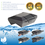 AlpinPro® Antikalksysteem Black Edition | type: Uni-Pro (voor alle waterleidingen)