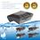 AlpinPro® Antikalksysteem Black Edition | type: Xtreme Pro (waterdicht en voor alle waterleidingen)