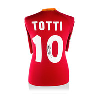 Francesco Totti signed AS Roma shirt 2000-01