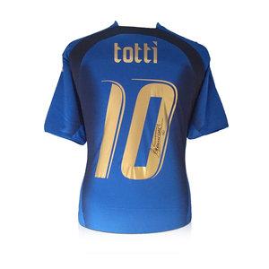 Francesco Totti maglia firmata Italia 2006