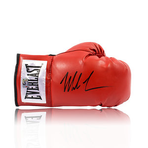 Mike Tyson signed boxing glove Everlast