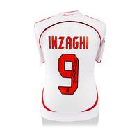 Filippo Inzaghi signed Milan shirt 2006-07