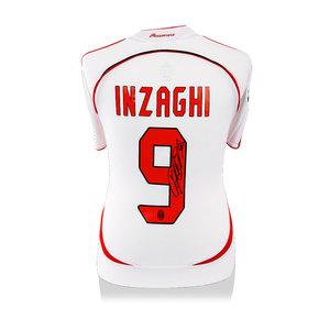Filippo Inzaghi maglia firmata Milan 2006-07