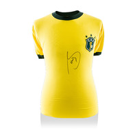 Socrates signed Brazil shirt 1982 World Cup