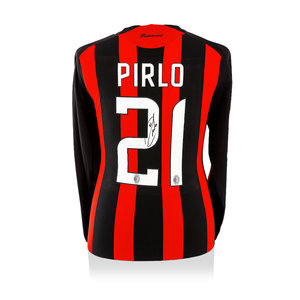 Andrea Pirlo signed AC Milan shirt 2008-09