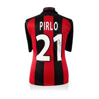 Andrea Pirlo maglia firmata Milan 2000-02