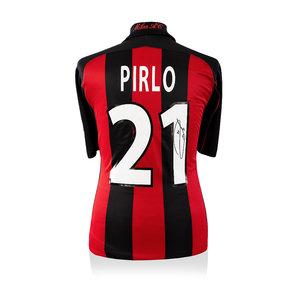 Andrea Pirlo signed AC Milan shirt 2000-02