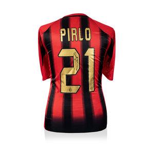 Andrea Pirlo signed AC Milan shirt 2004-05