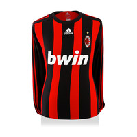 Andrea Pirlo signed AC Milan shirt 2008-09