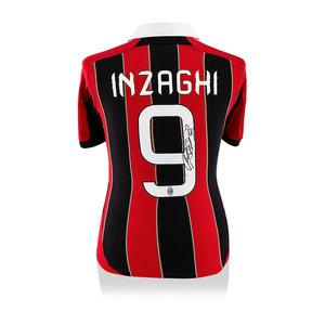 Filippo Inzaghi signed AC Milan shirt 2012-13