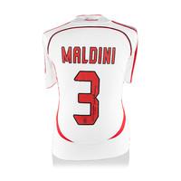 Paolo Maldini signed AC Milan shirt 2006-07