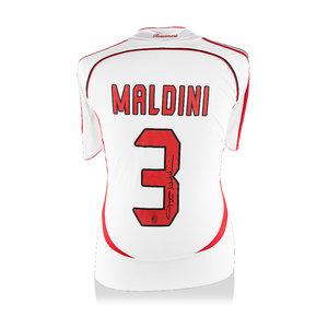 Paolo Maldini maglia firmata Milan 2006-07