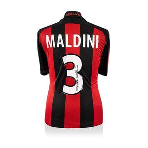 Paolo Maldini maglia firmata Milan 2000-01