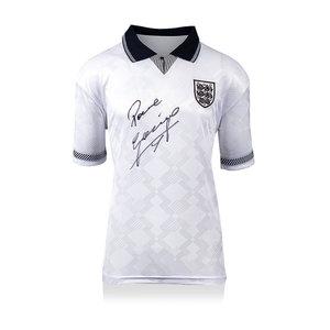 Paul Gascoigne maglia firmata Inghilterra 1990