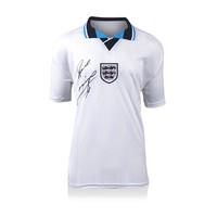 Paul Gascoigne maglia firmata Inghilterra 1996