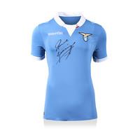 Paul Gascoigne signed Lazio shirt 2014-15