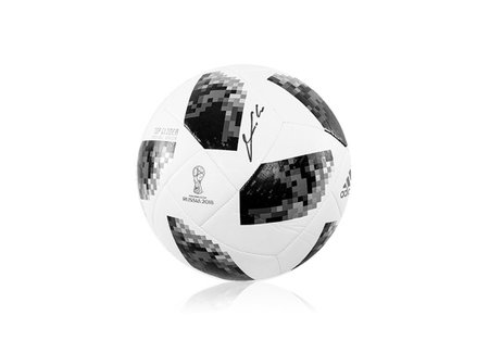 Espositore per un calcio