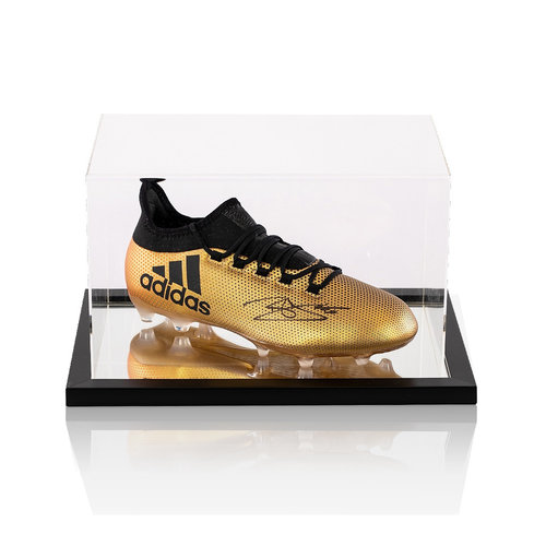 Display case - football boot