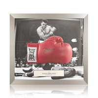 Frame your boxing glove - single dome