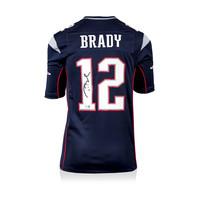Tom Brady signed New England Patriots shirt