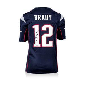 Tom Brady maglia firmata New England Patriots