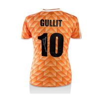 Ruud Gullit signed Netherlands shirt 1988