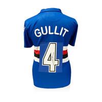 Ruud Gullit signed retro Sampdoria shirt