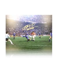 Marco van Basten foto firmata Milan