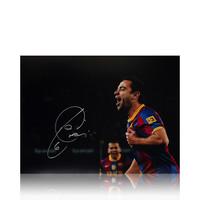 Xavi foto firmata Barcelona