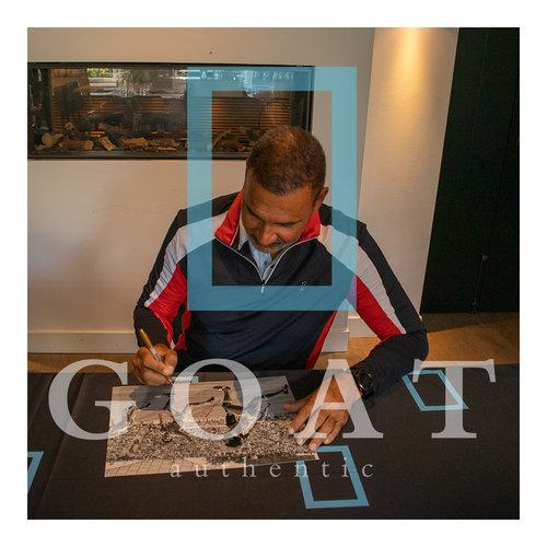 Ruud Gullit signed Netherlands photo - Euro 88