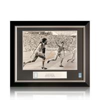 Ruud Gullit foto firmata Olanda - Euro 88 - incorniciata